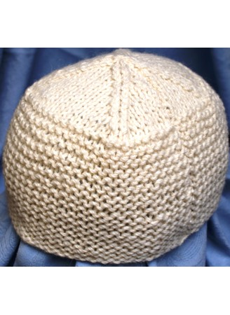 Natural 100% Alpaca hat