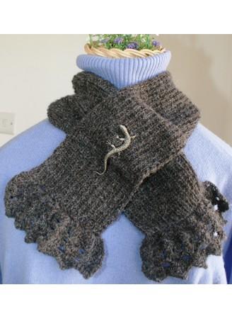 Natural 100% Alpaca scarf