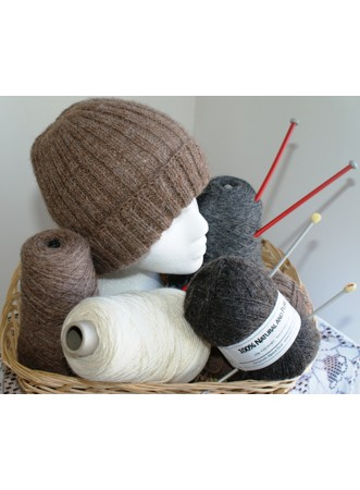 Natural 100% Alpaca yarn