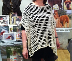 poncho front cirencester market