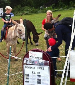 COTS SHOW JULY 2015 DONKEY RIDE 4